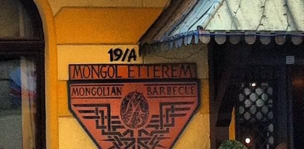 Mongolian Barbecue Restaurant