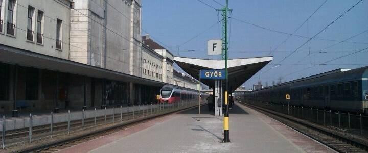 Győr vasútállomás