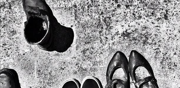Cipők a Duna-parton