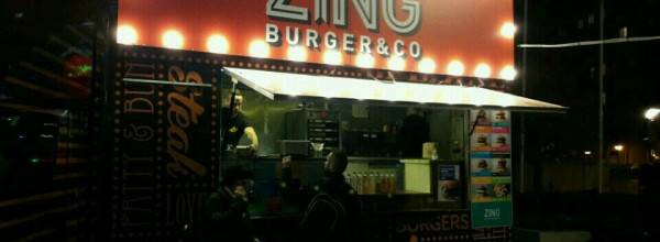 Zing Burger Christmas edition