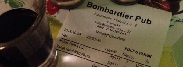 Bombardier Pub